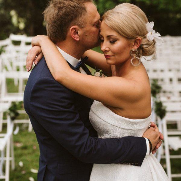 Ślub w plenerze.